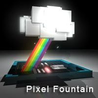 Pixyl Fountain