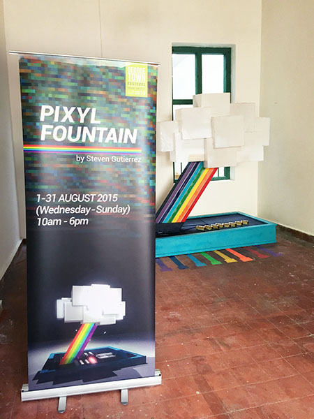 Pixyl Fountain Poster